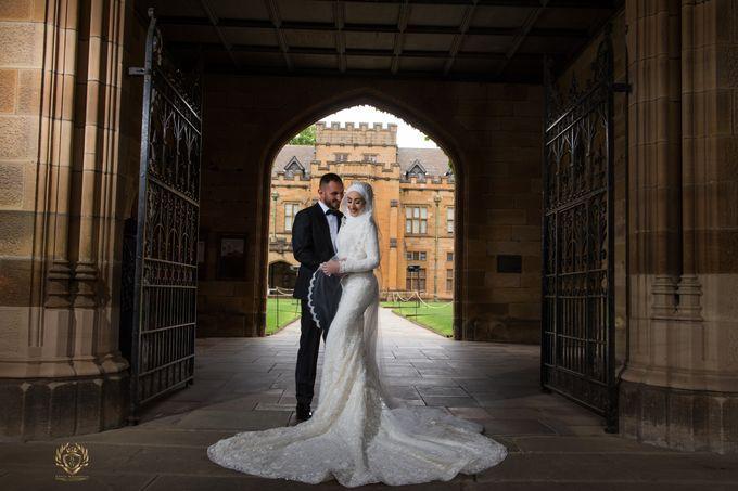 Mahmoud & Esra wedding by Kings weddings film & photography - 003
