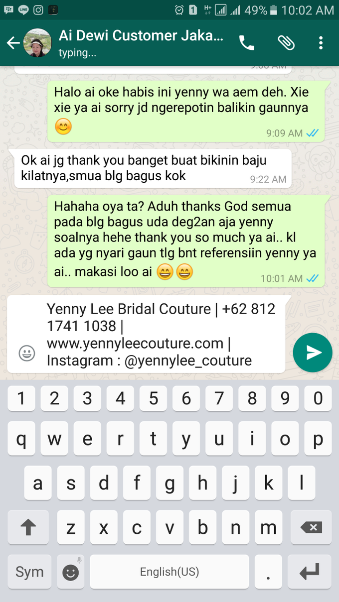 Testimonial by Yenny Lee Bridal Couture - 013