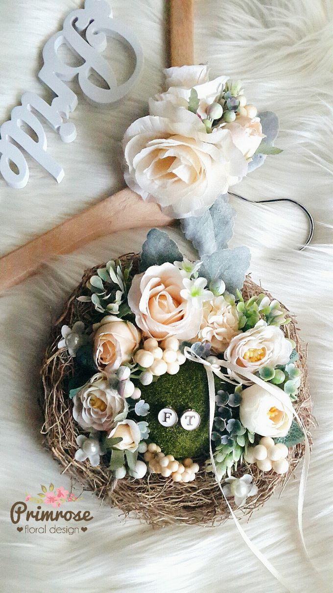 Wedding Ring Box by Primrose Floral Design - 037