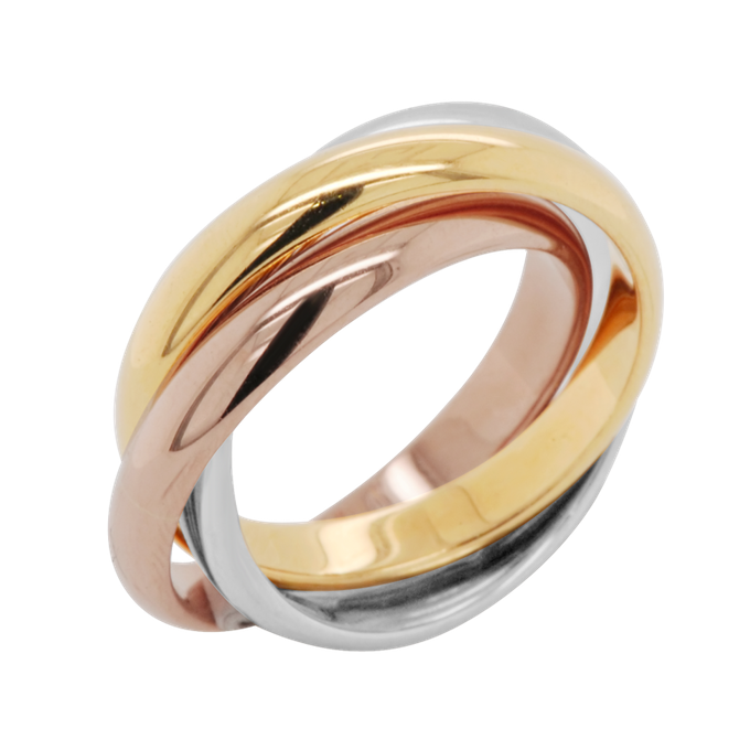 Wedding Bands - The Trinity Ring by Carat 55 - 003