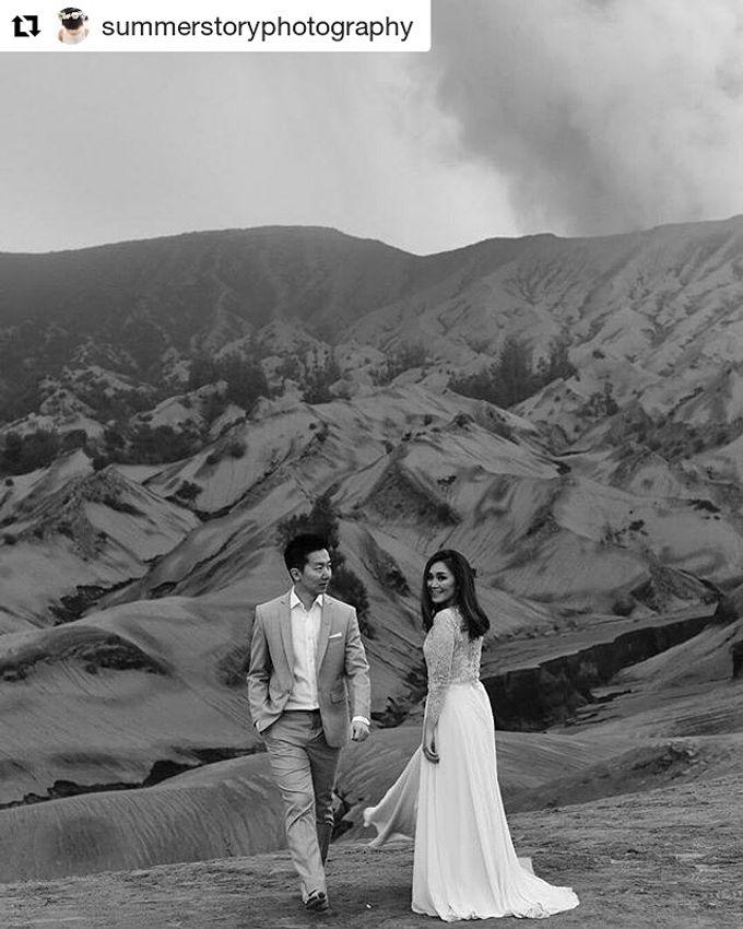 Prewedding Make Up by Julinar Tan Make Up Artist - 012