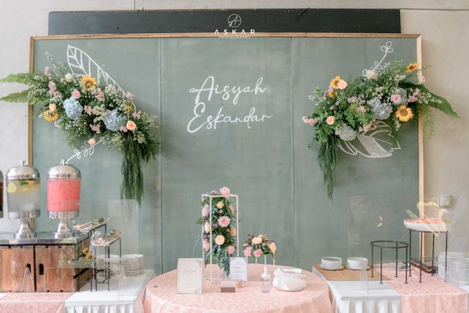Wedding Aisyah & Eskandar by Dibalik Layar - 006