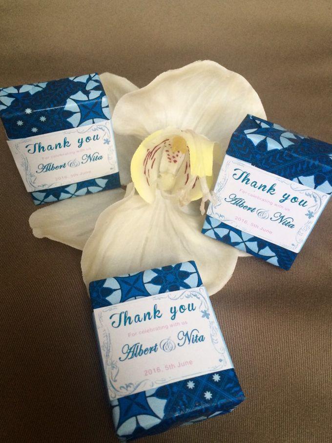 Mini Environmentally Friendly Soap - Batik by Uniquely Souvenirs - 002