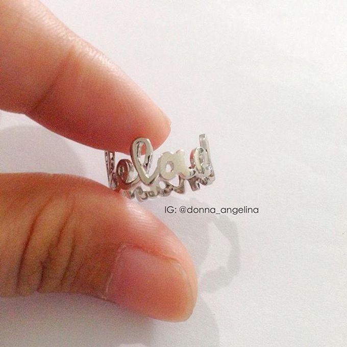 Name & Initial by DA Jewelry - 012