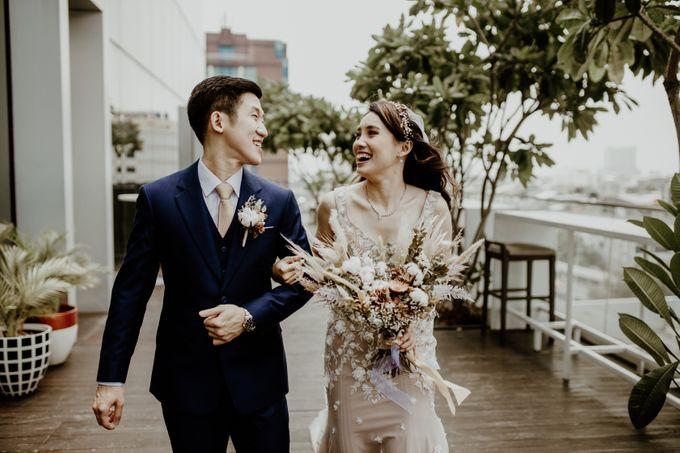 Kristi & Yonathan Wedding by AKSA Creative - 037