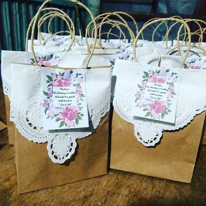 Pouch Katun 18x10cm With Mini Paper Bag by Rumah Souvenir - 001