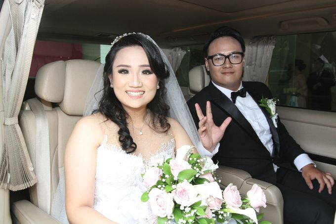Best wishes for a fun-filled future together by sapphire wedding car - 003