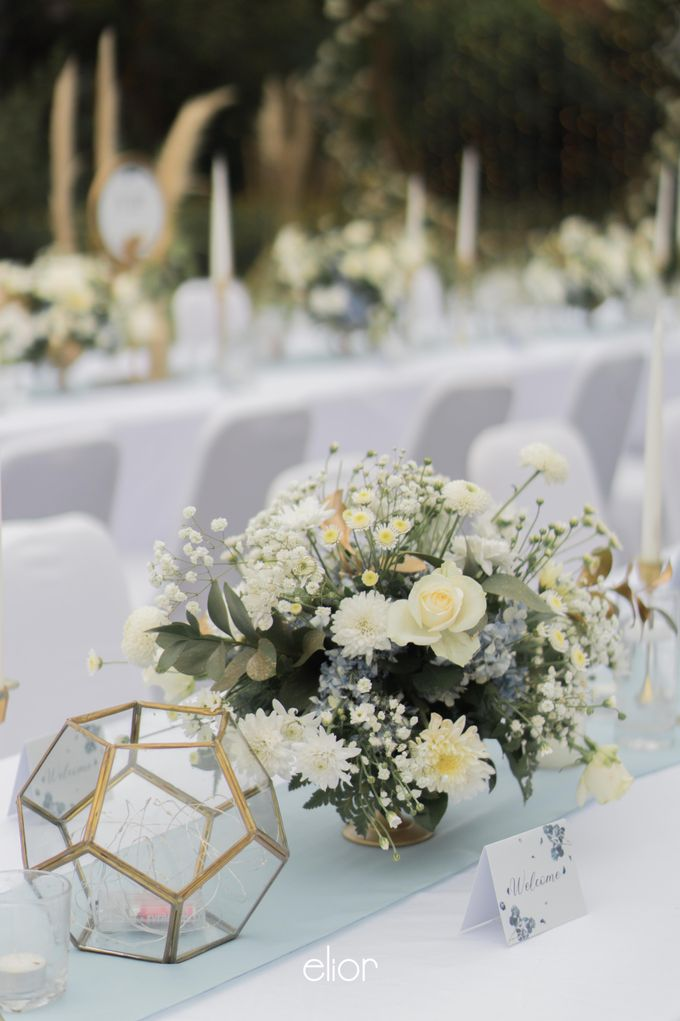 The Wedding of Kent & Tatiana by Elior Design - 004