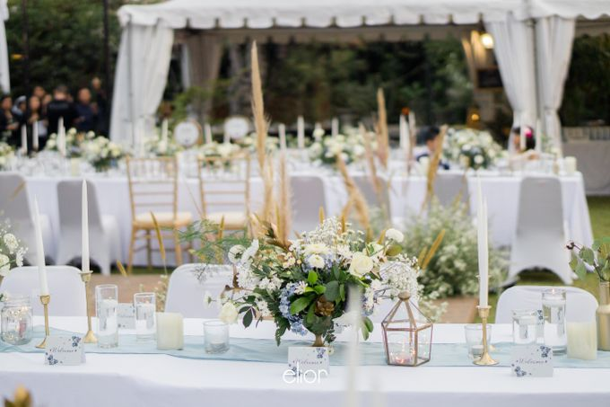 The Wedding of Kent & Tatiana by Elior Design - 010