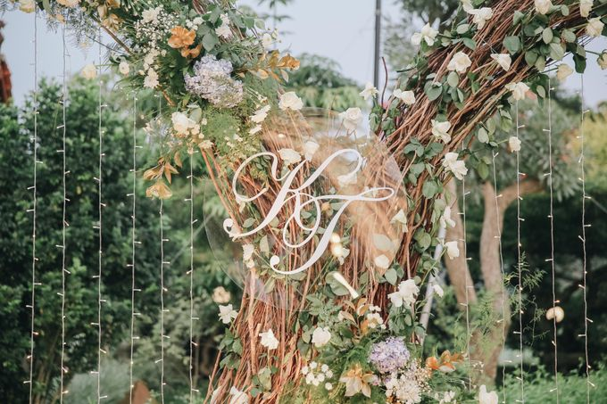 The Wedding of Kent & Tatiana by Elior Design - 003