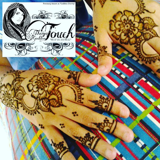 Henna Artwork Designing by Theiya Goddess Touch - 007