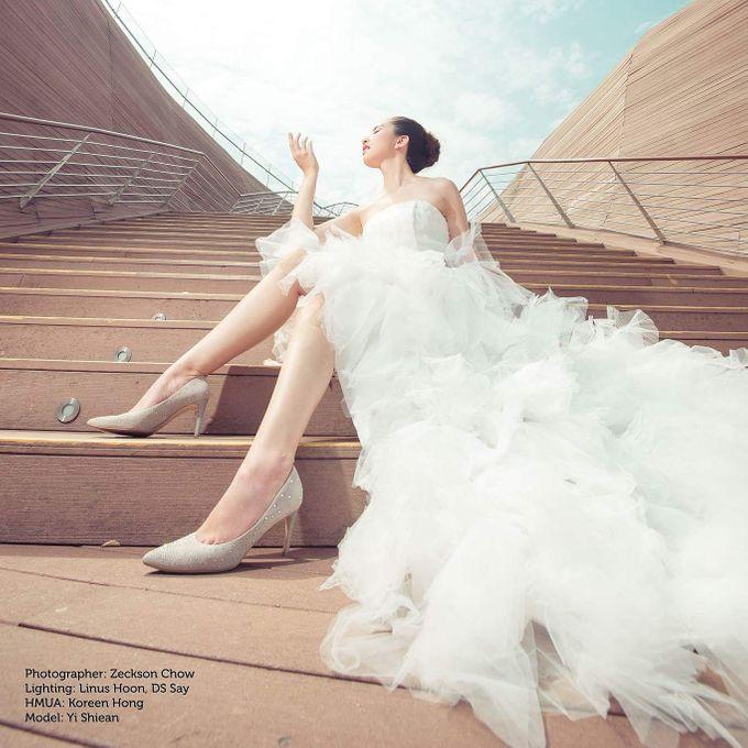 Natural Korean Bridal Look by Beautistylebykoreen - 003