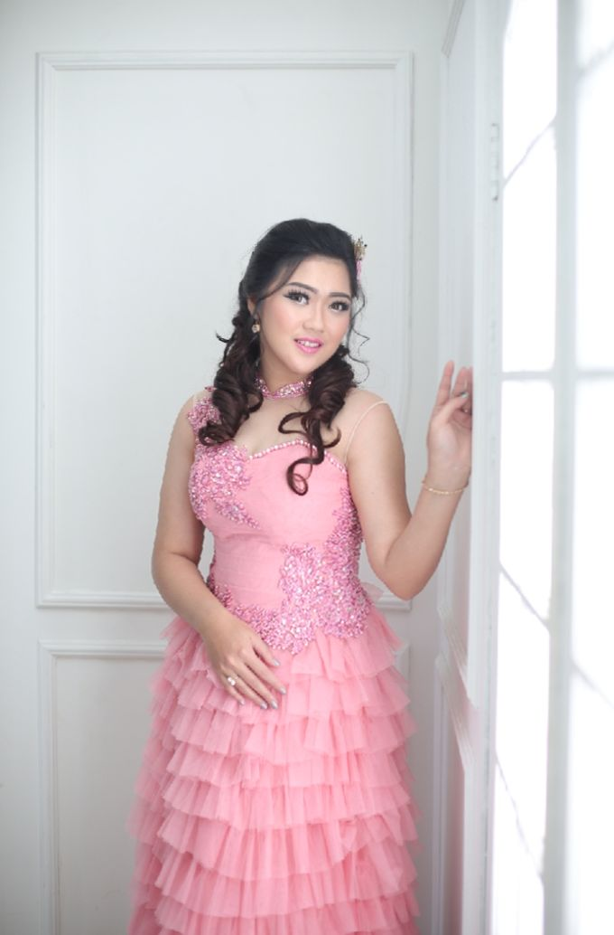 Favor Pre-wedding Gown - Dusty Pink by Favor Brides - 005