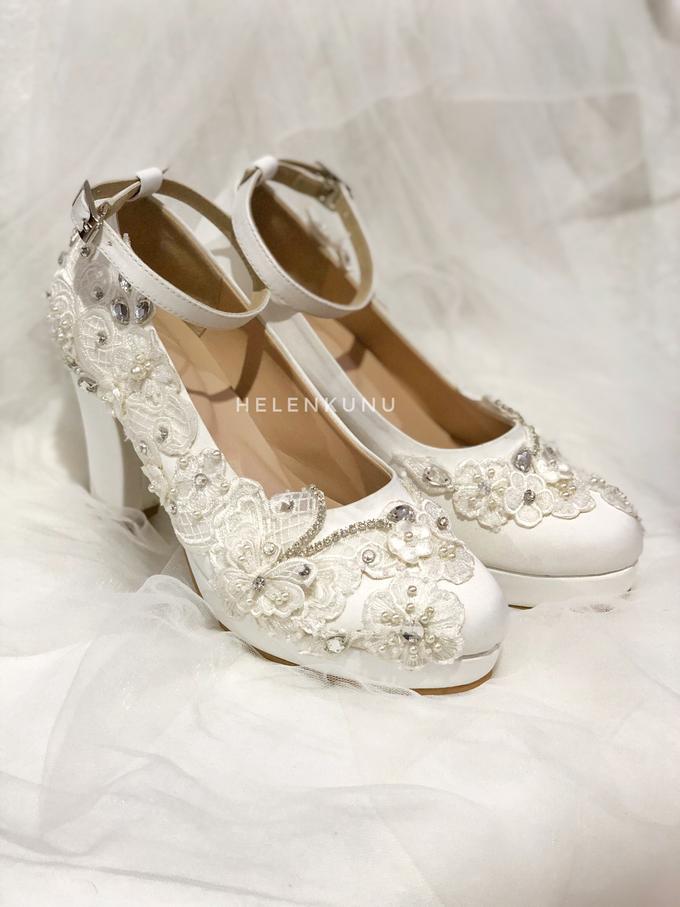 ARRA wedding white shoes by Helen Kunu by Kunu Looks - 002