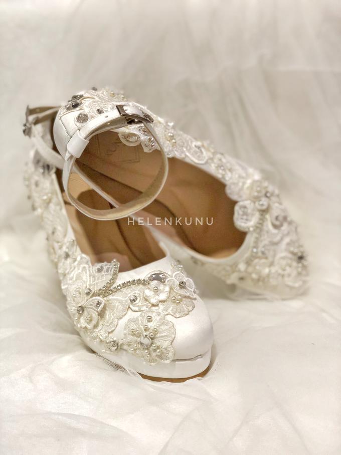 ARRA wedding white shoes by Helen Kunu by Kunu Looks - 003