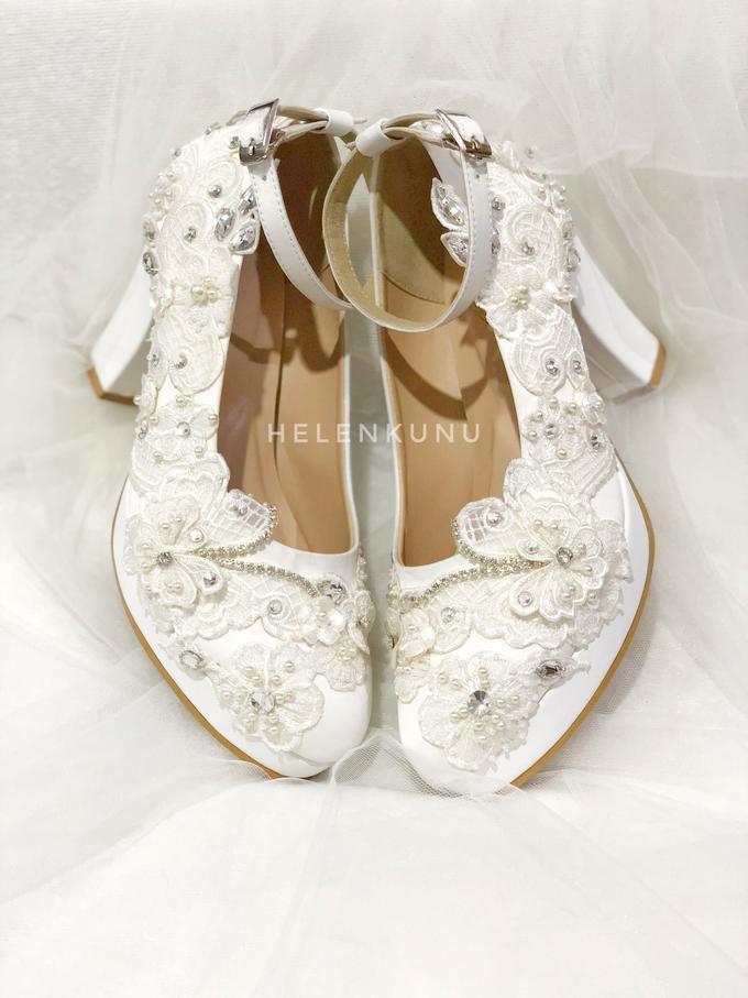 ARRA wedding white shoes by Helen Kunu by Kunu Looks - 005