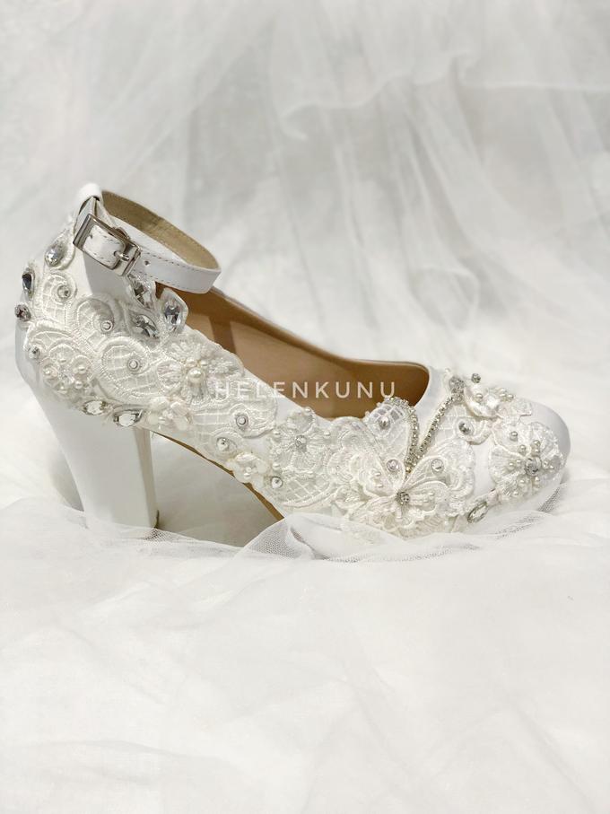 ARRA wedding white shoes by Helen Kunu by Kunu Looks - 004