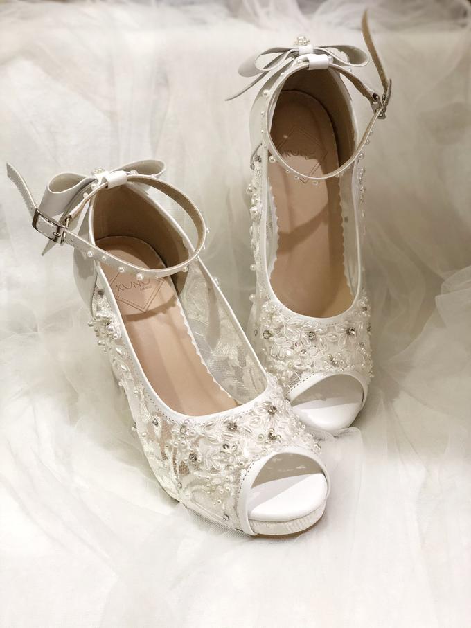 CLARA wedding white shoes by Helen Kunu by Kunu Looks - 001