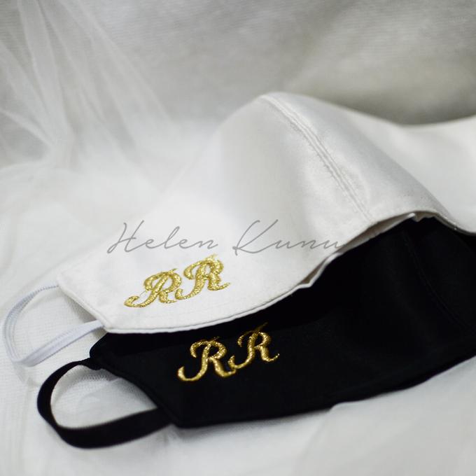 INITIAL WEDDING MASK by Helen Kunu by Kunu Looks - 005