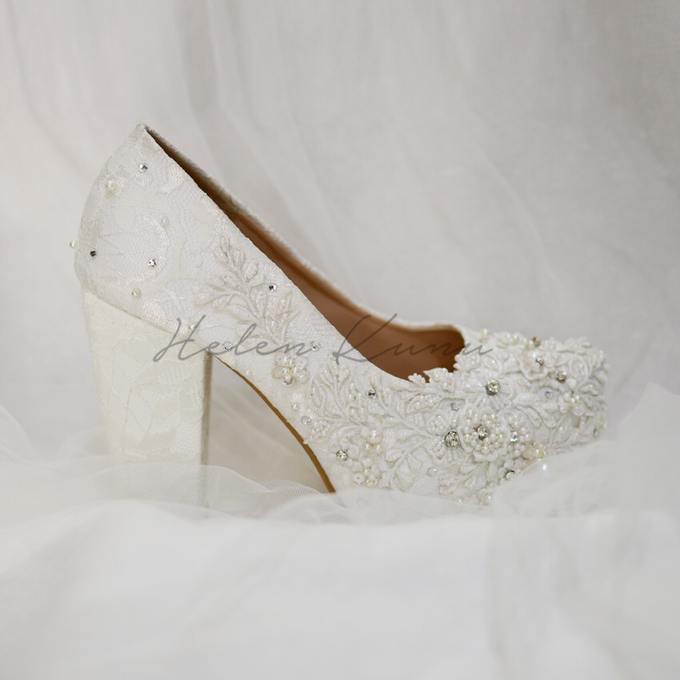 Brigitta wedding shoes by Helen Kunu by Kunu Looks - 005