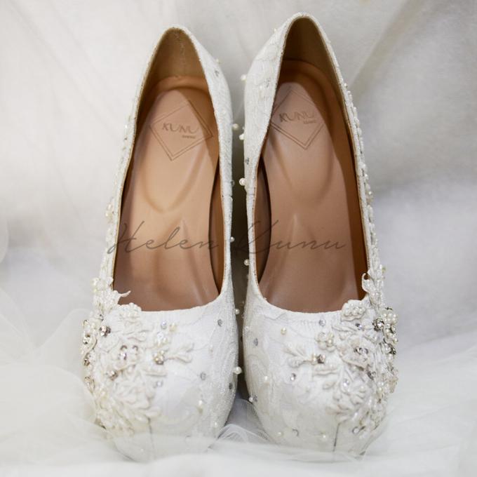 Brigitta wedding shoes by Helen Kunu by Kunu Looks - 002