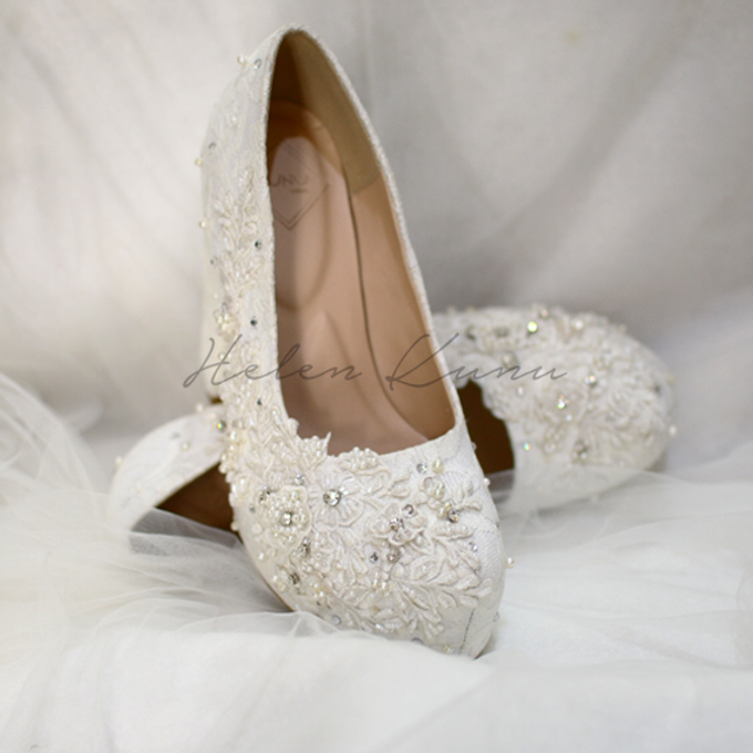 Brigitta wedding shoes by Helen Kunu by Kunu Looks - 006