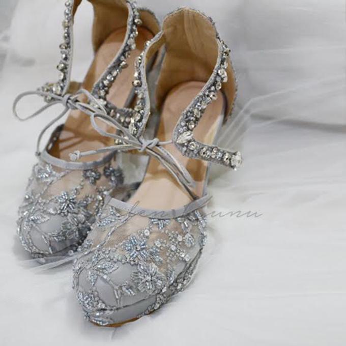 Pots heels wedding by Helen Kunu by Kunu Looks - 001
