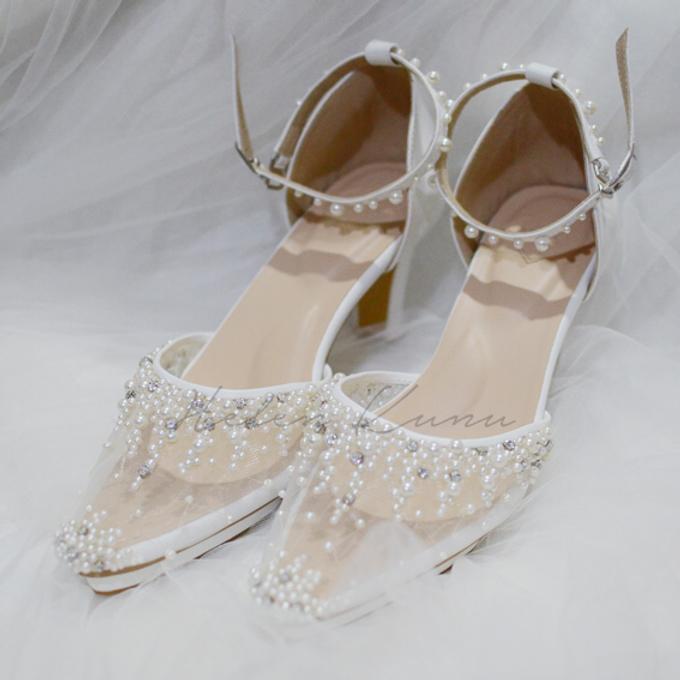 Windy wedding heels by Helen Kunu by Kunu Looks - 001