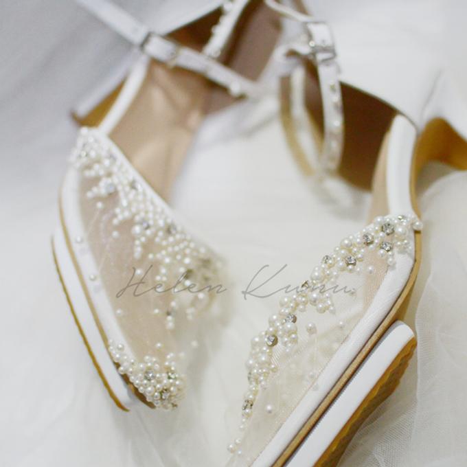 Windy wedding heels by Helen Kunu by Kunu Looks - 004