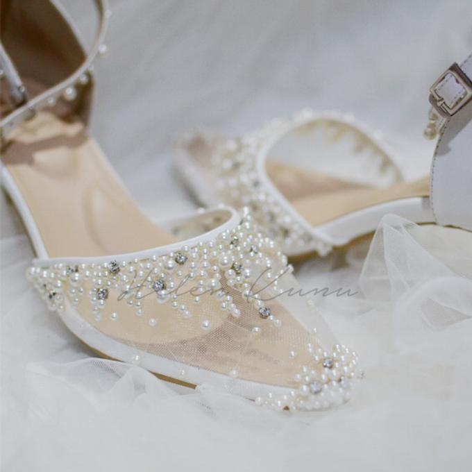 Windy wedding heels by Helen Kunu by Kunu Looks - 005