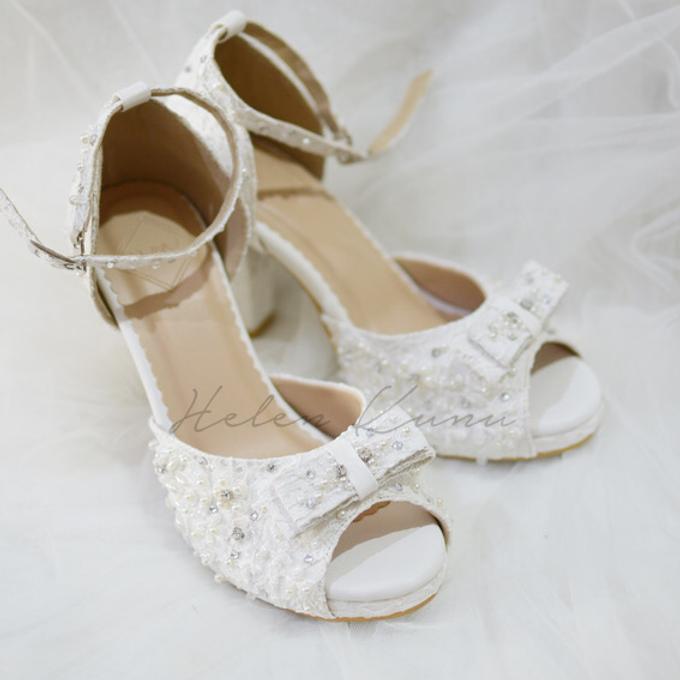 White christmas heels by Helen Kunu by Kunu Looks - 002