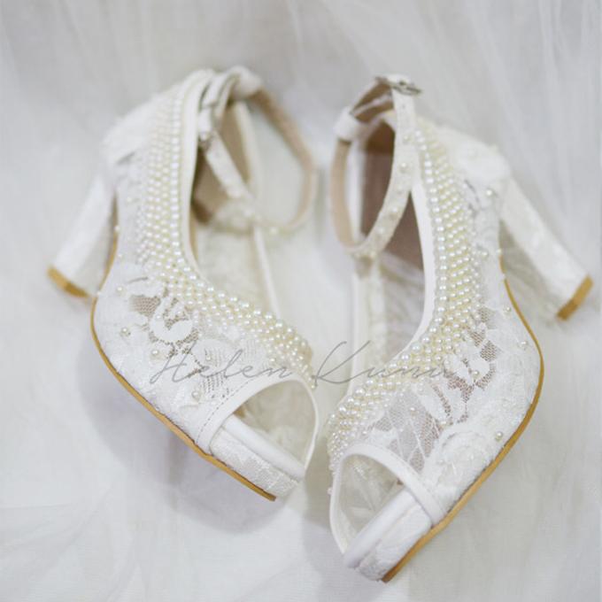 White christmas heels by Helen Kunu by Kunu Looks - 007