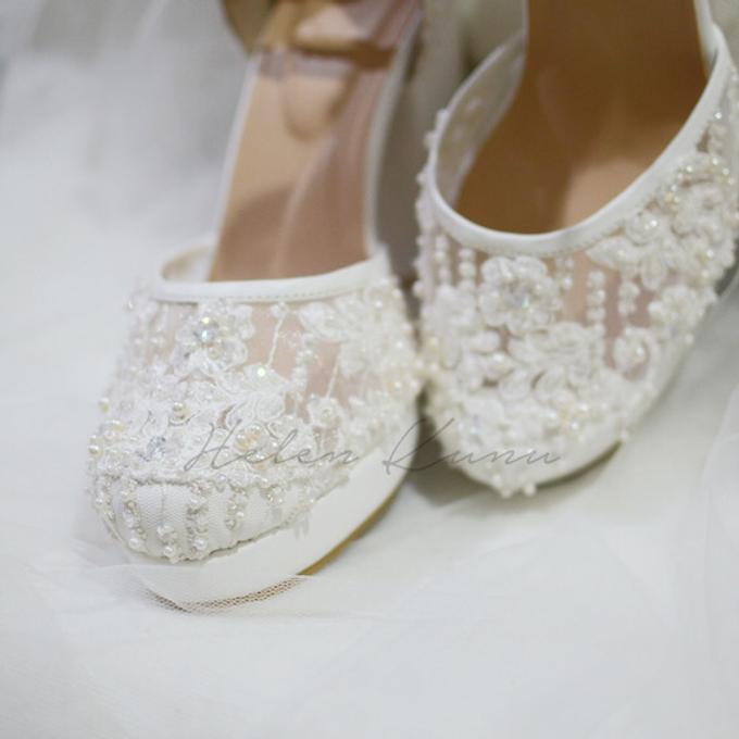 White christmas heels by Helen Kunu by Kunu Looks - 016
