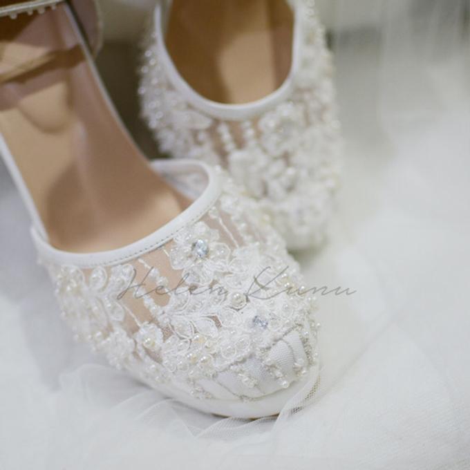 White christmas heels by Helen Kunu by Kunu Looks - 021