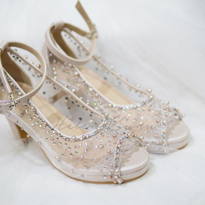 NoVA wedding shoes shimmering bling by Helen Kunu by Kunu Looks - 001