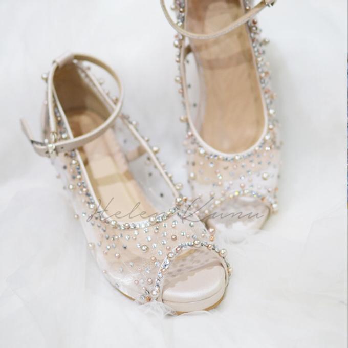 NoVA wedding shoes shimmering bling by Helen Kunu by Kunu Looks - 005