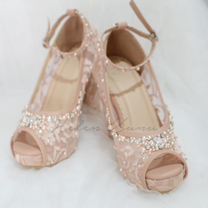Audelia Cream wedding shoes by Helen Kunu by Kunu Looks - 001