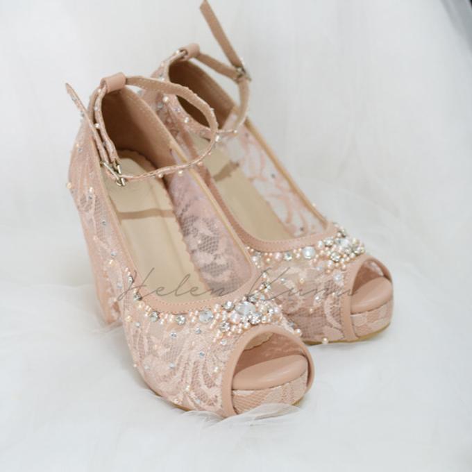 Audelia Cream wedding shoes by Helen Kunu by Kunu Looks - 003