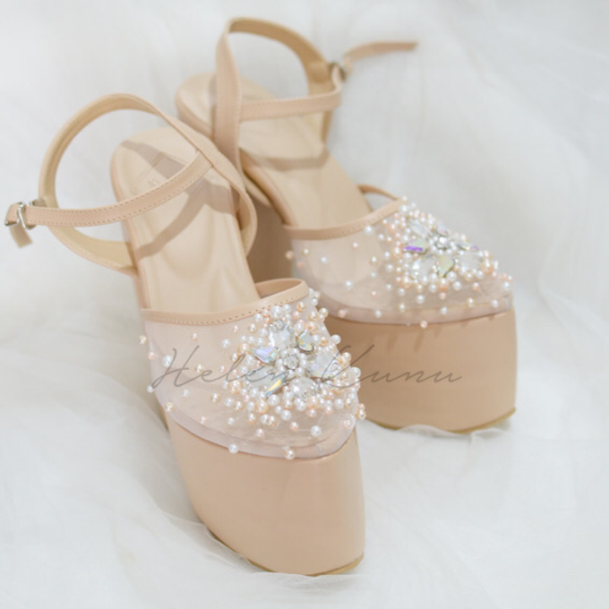 Linda wedding heels by Helen Kunu by Kunu Looks - 002