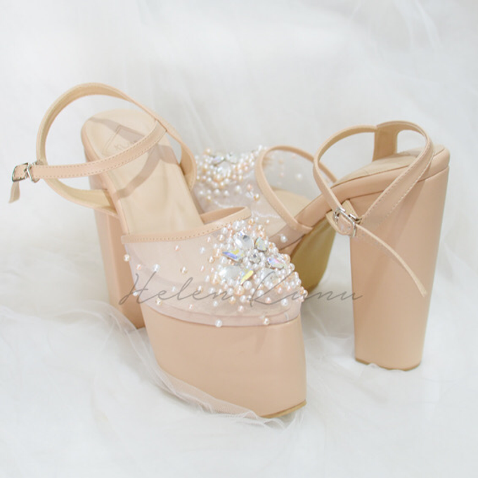 Linda wedding heels by Helen Kunu by Kunu Looks - 006