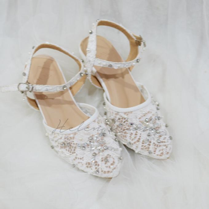 felicia wedding shoes by Helen Kunu by Kunu Looks - 003