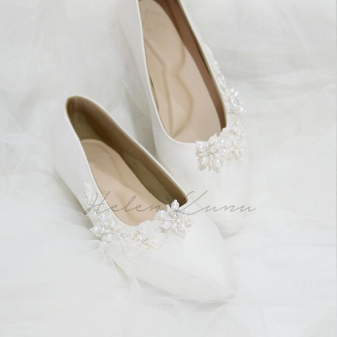 Yuri Kitten Heels wedding shoes by Helen Kunu by Kunu Looks - 001