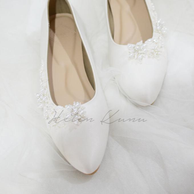 Yuri Kitten Heels wedding shoes by Helen Kunu by Kunu Looks - 002