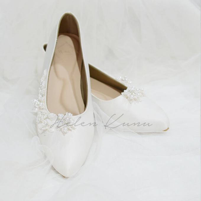 Yuri Kitten Heels wedding shoes by Helen Kunu by Kunu Looks - 003