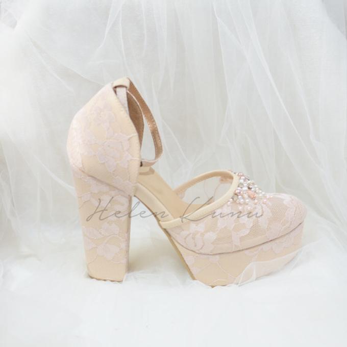 WEDDING BLUSH CREAM HEELS by Helen Kunu by Kunu Looks - 008