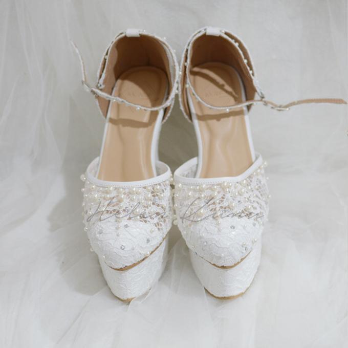 PRISKILA white Heels  by Helen Kunu by Kunu Looks - 003