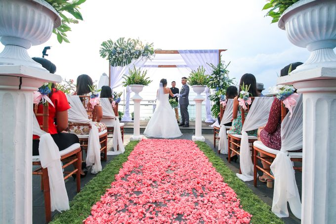 Wedding on a Rooftop at Kuta by KutaBex Beach Front Hotel Bali - 005