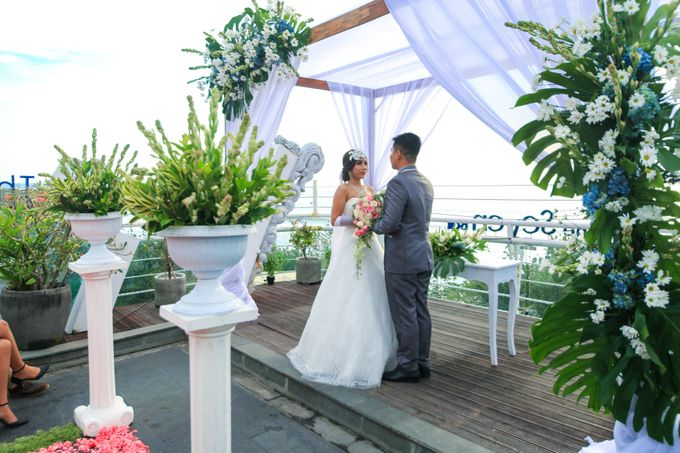 Wedding on a Rooftop at Kuta by KutaBex Beach Front Hotel Bali - 006