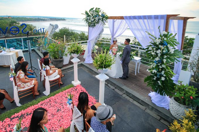 Wedding on a Rooftop at Kuta by KutaBex Beach Front Hotel Bali - 007