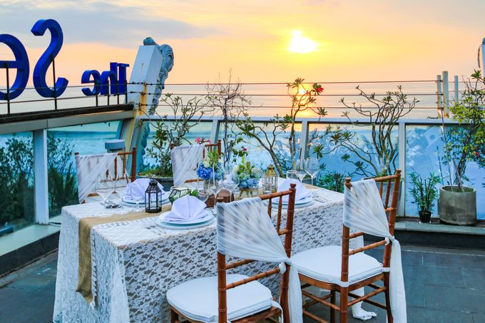 Wedding on a Rooftop at Kuta by KutaBex Beach Front Hotel Bali - 009
